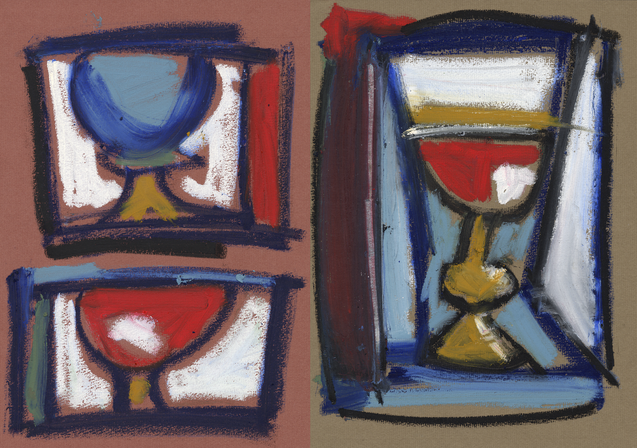 Vessels and chalice