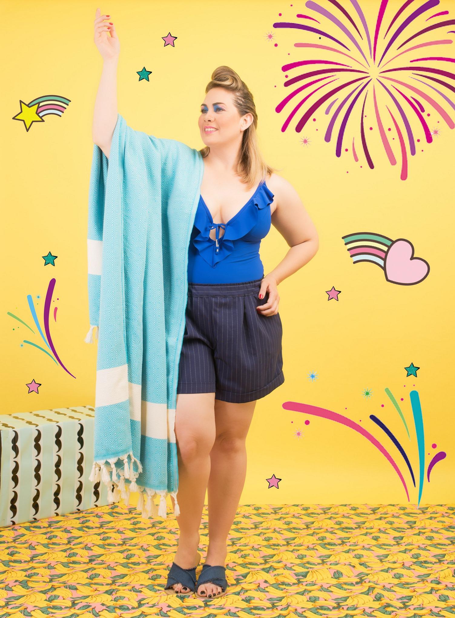 PLUS SIZE FASHION WEEK מכנסיים AYE, בגד ים קוברה לאליס, מגבת במידות גדולות CHIC AND COMFY, צילום פזית עוז (Copy).jpg