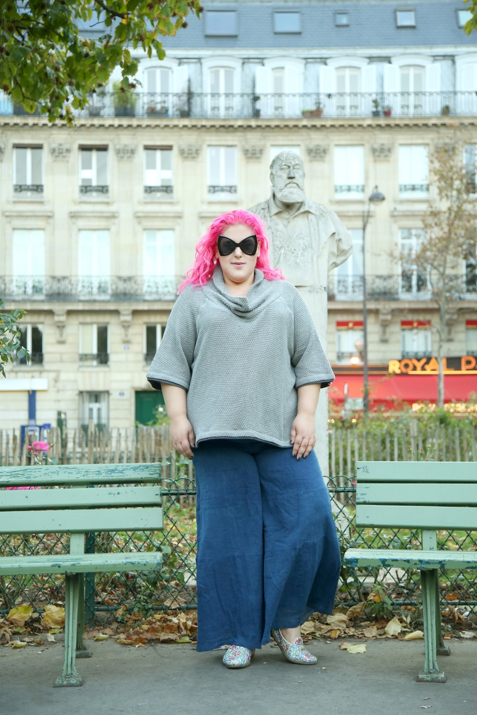 שבוע האופנה למידות גדולות 21-24.11.17 יד חרוצים11 תל אביב מעילים לימור אופנה גדולה צילום יחצ טוטאל לוק של לילא סריג כותנה 280 שח מכנסיים 260 שח (Copy) (Copy).JPG