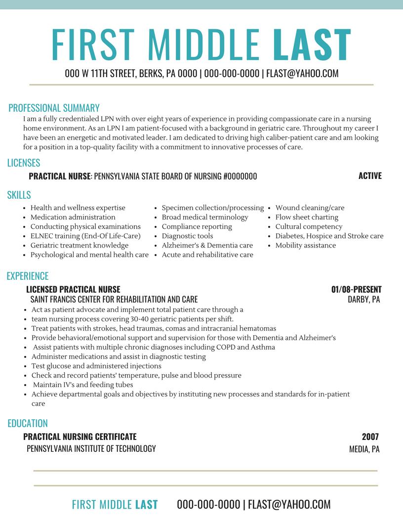 Basic Resume 3