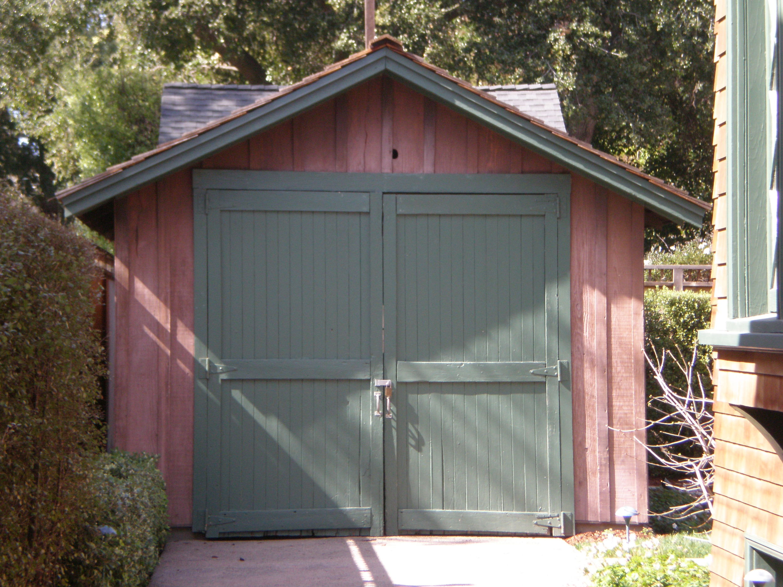The original shed HP started in
