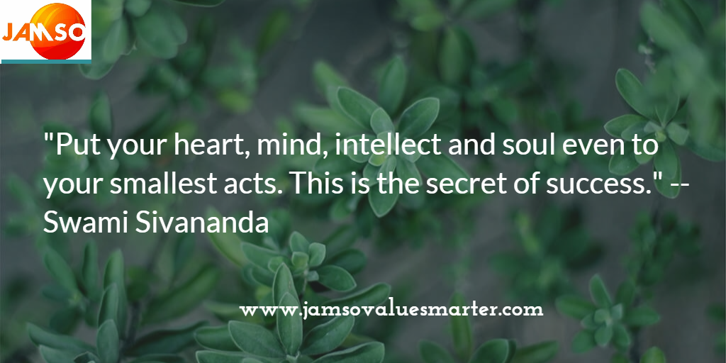 The secret of success by Swami Sivananda