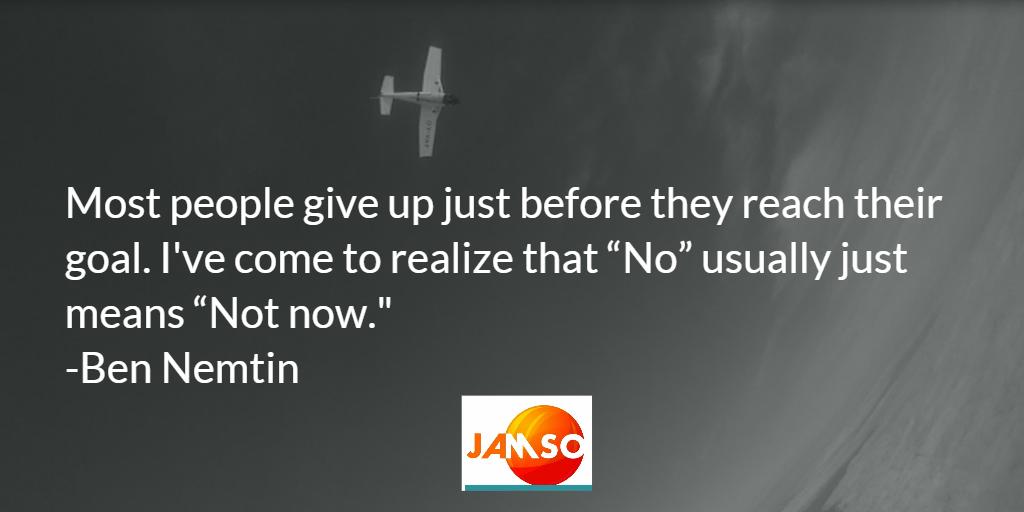 Ben Nemtin quote