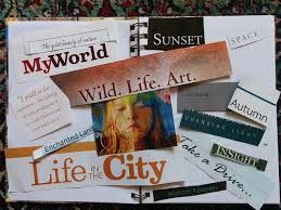 Basic vision board example