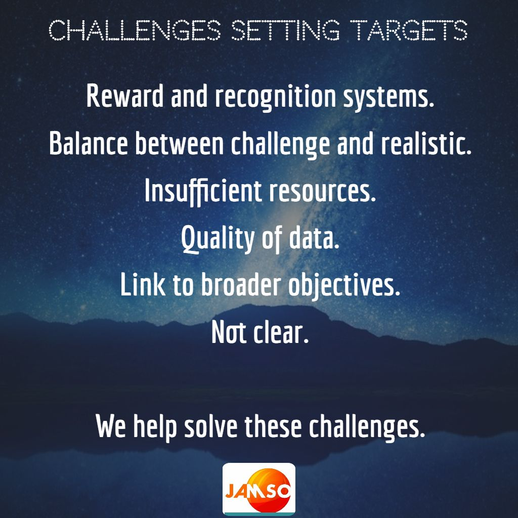 The most common target challenges face by companies