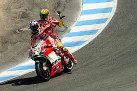 Typical Nicky. Stopped to pick up a team mate who ran out of fuel after a race