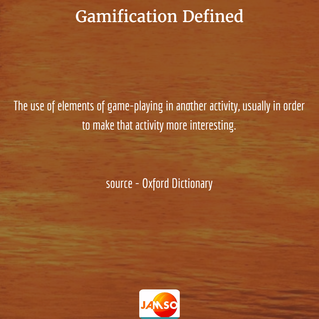 Definition of gamification