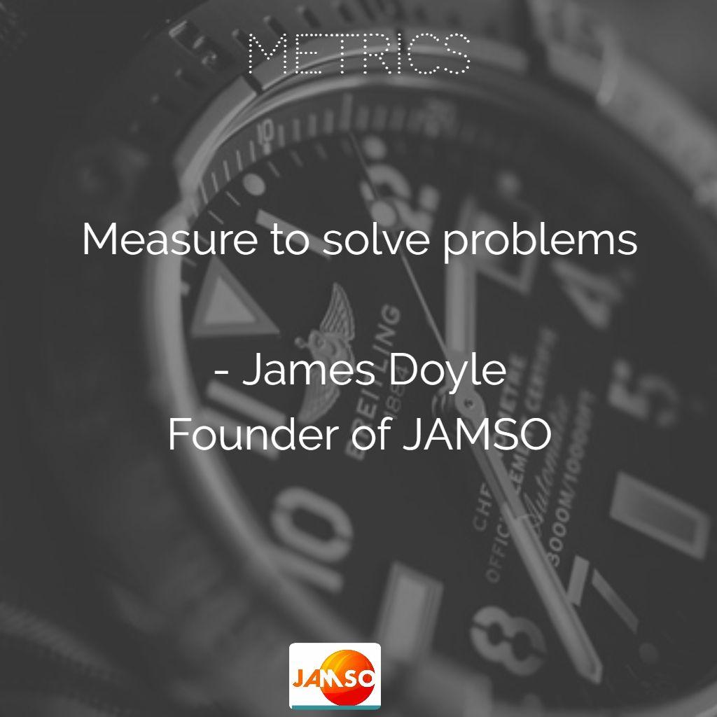The purpose of metrics