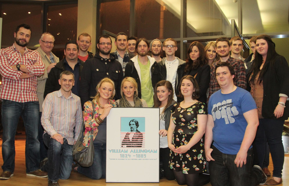 #designatmagee; The original Allingham class of 2011. Much credit must go to the staff that get involved each year.