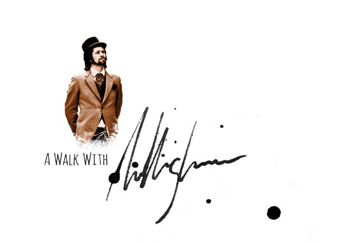 The award winning short: ' A Walk With Allingham'  2012