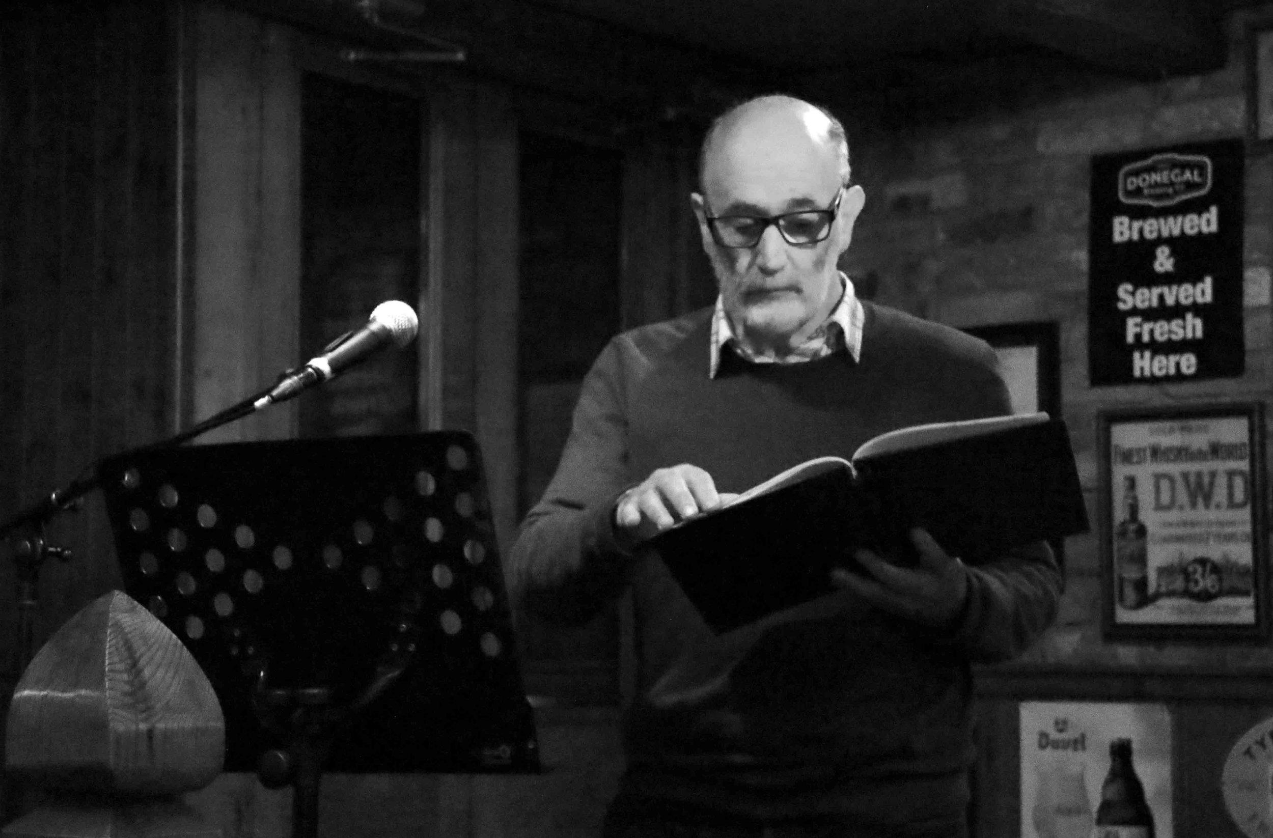 Poetry Reading with Mick Delap - Allingham Festival 2016, Ballyshannon-15.jpg