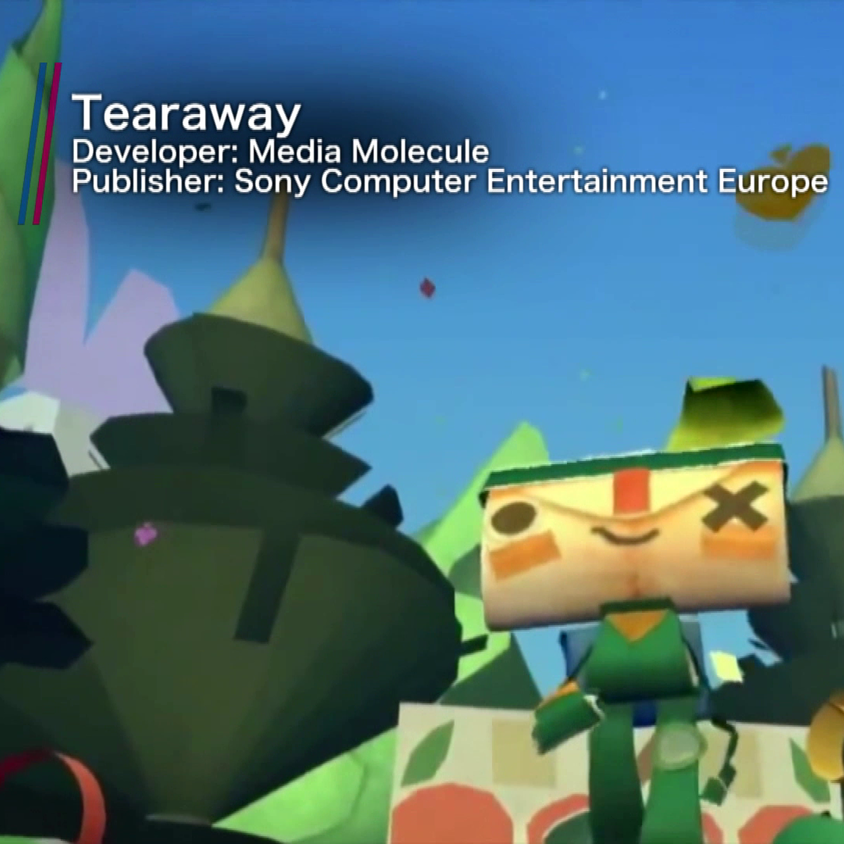 The Bit Socket pilot is all about being inclusive; we talk about old and new games, things that everyone can enjoy, like Tearaway here.