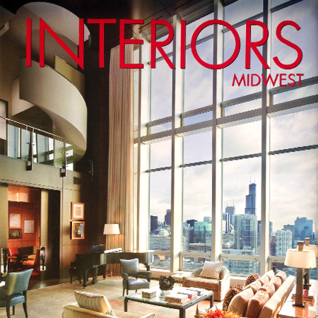 "Interiors Midwest Book   ""Leading designers reveal their most brilliant spaces"""