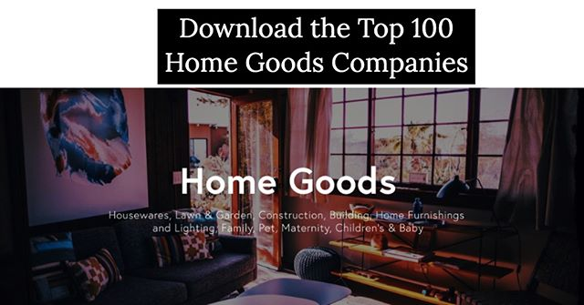 What percent of these top Brands & Retailers within the 'Home Goods' Industry do you actually recognize? http://ow.ly/F92i50v8z9J