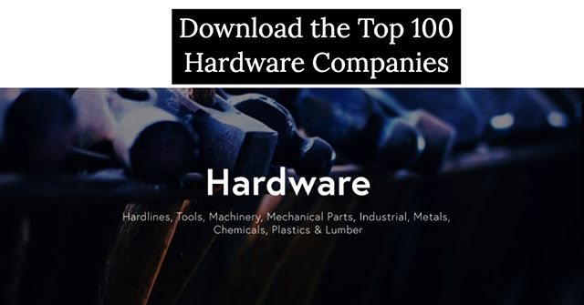 What percent of these top Brands & Retailers within the 'Hardware' Industry do you actually recognize? http://ow.ly/KP1r50v8zaE
