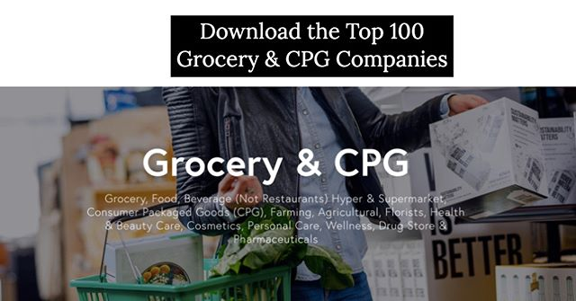 What percent of these top Brands & Retailers within the 'Grocery & CPG' Industry do you actually recognize? http://ow.ly/cb1B50vhaND