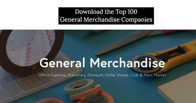 What percent of these top Brands & Retailers within the 'General Merchandise' Industry do you actually recognize? http://ow.ly/ofmz50vtfzM