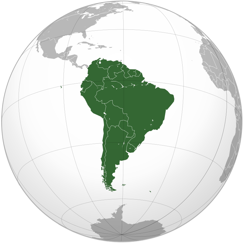 South America MatrixPlace