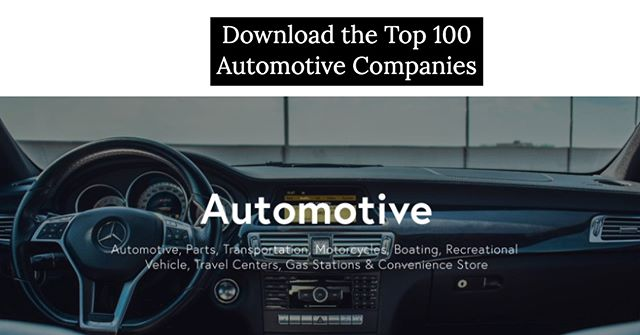 What percent of these top Brands & Retailers within the 'Automotive' Industry do you actually recognize? http://ow.ly/AQAo50vibd9