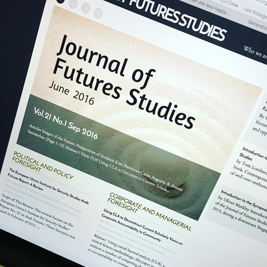 journal of futures studies