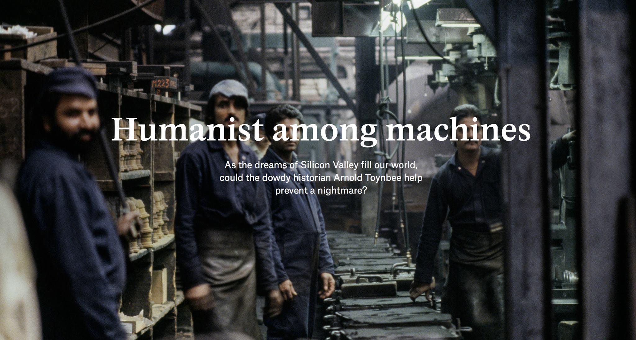 humanist among machines