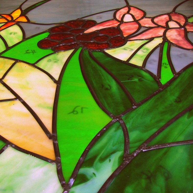 Stained glass fits together like a puzzle..jpg