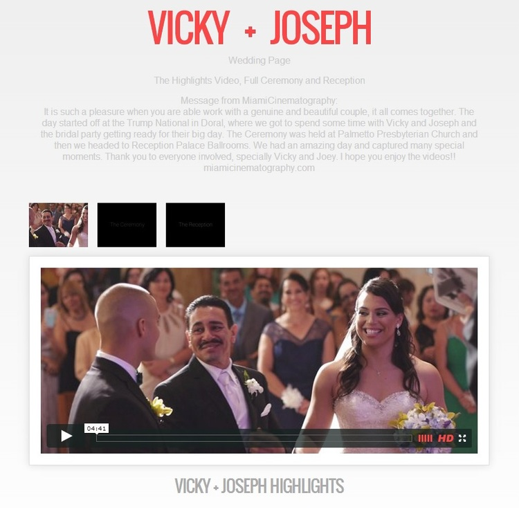 Example Couple Wedding Video Page from MiamiCinematography.jpg