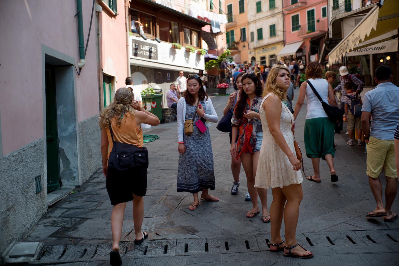 Tourists - Riomaggiore