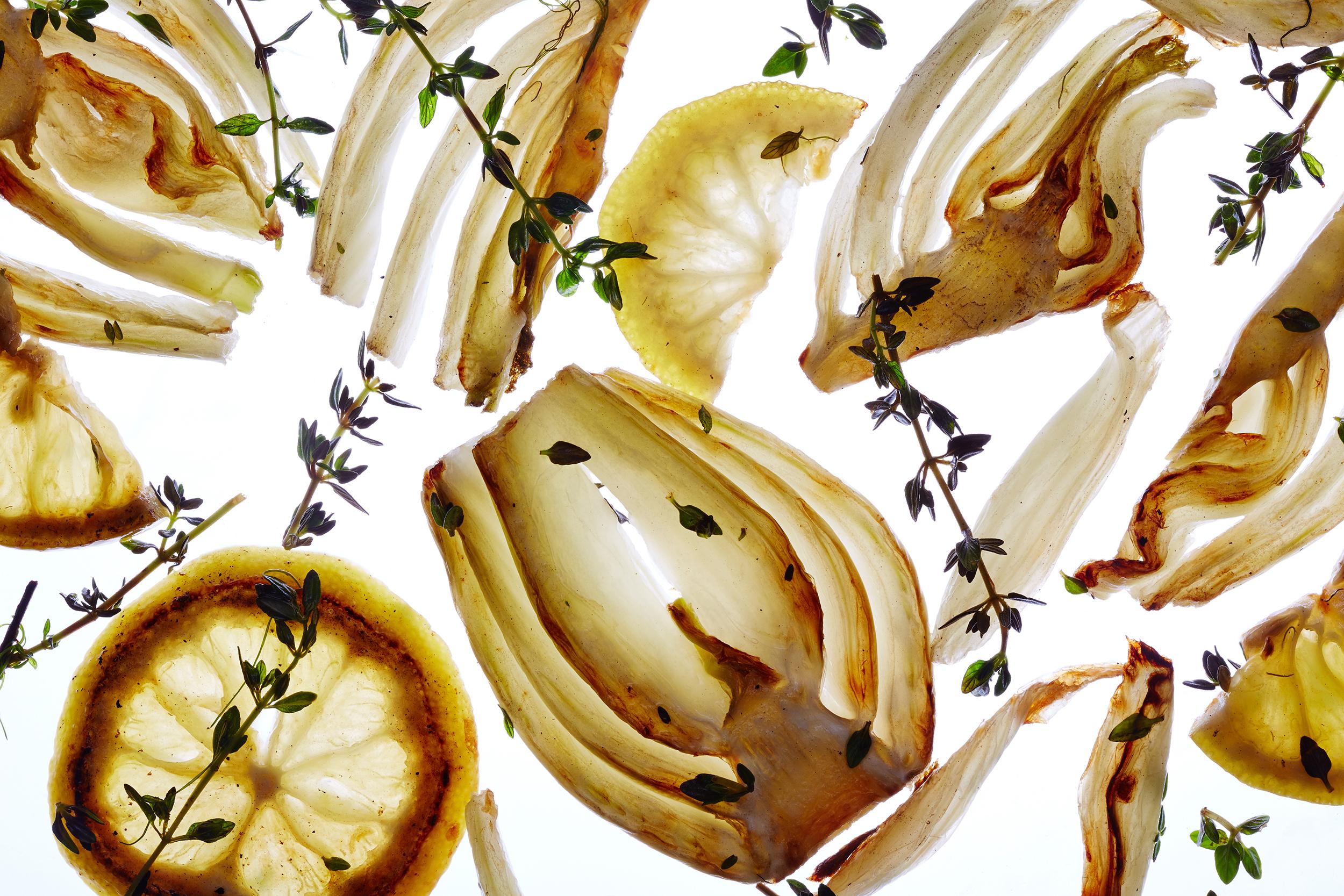 Translucent Fennel, Thyme, and Lemon