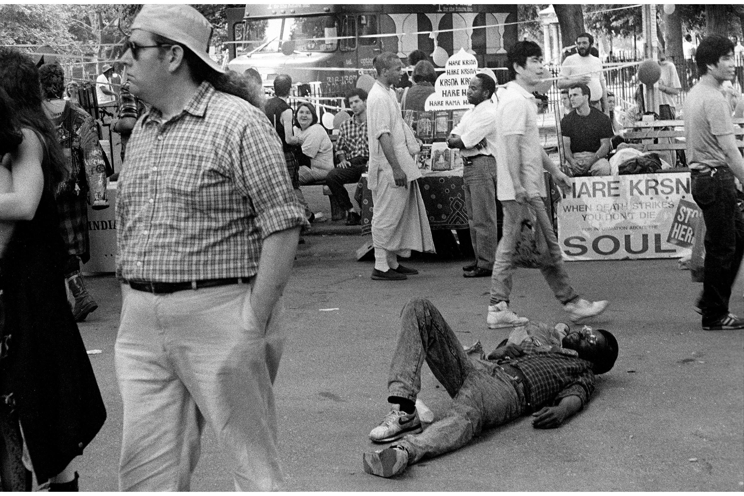 Tompkins Square Park, 1989