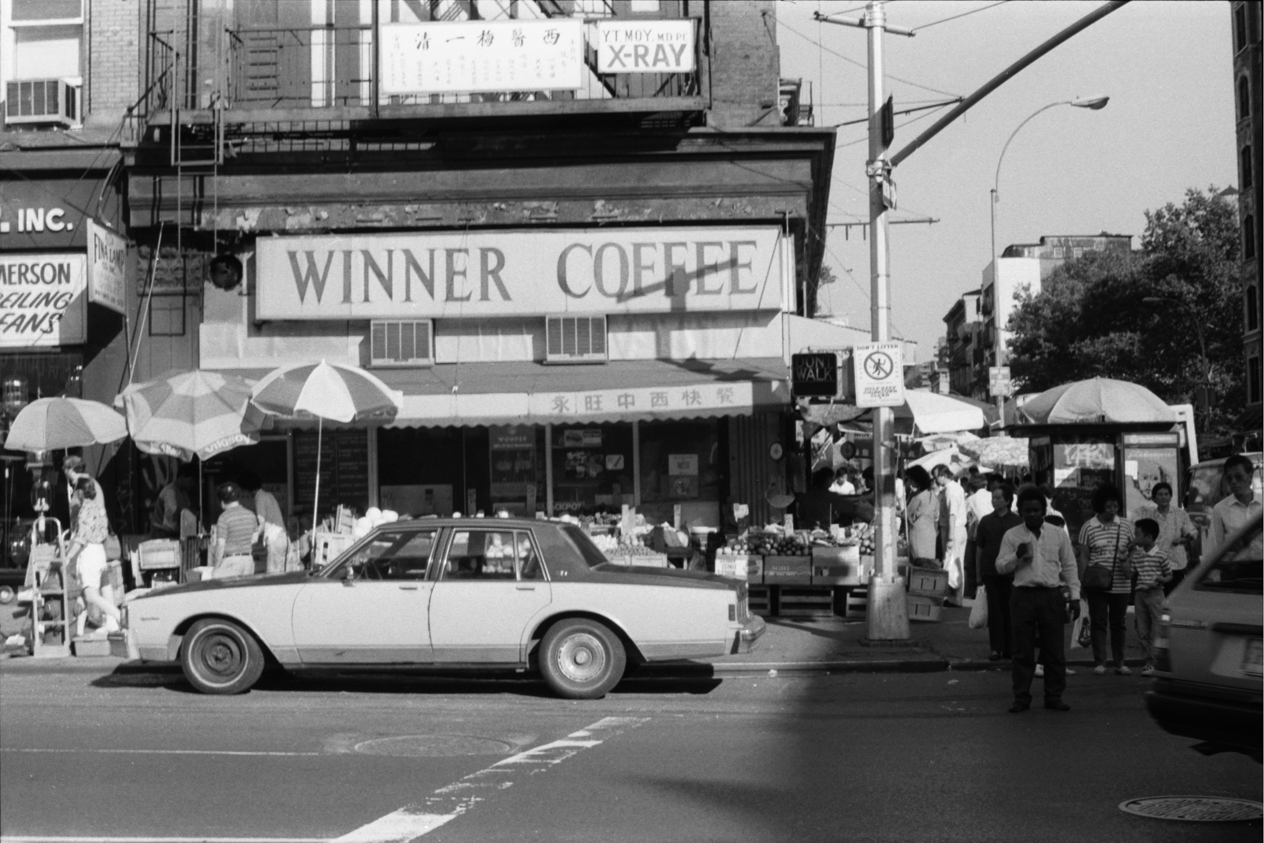 Bowery near Grand Street, 1989