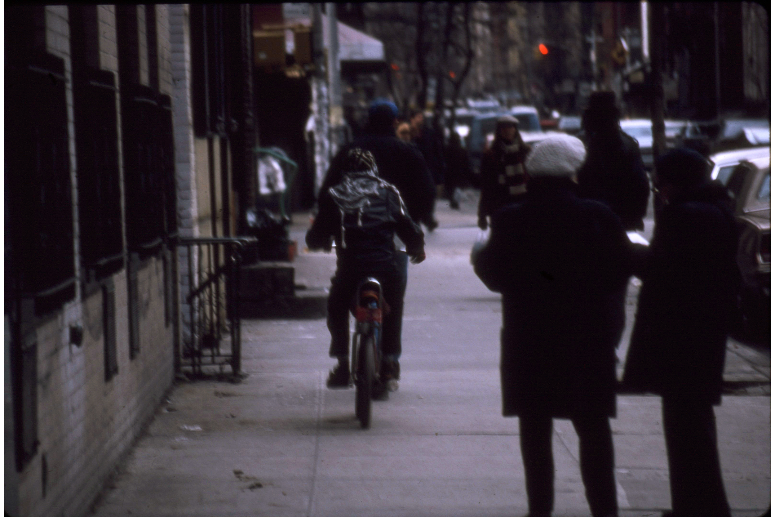 Probably East Village, February 1990