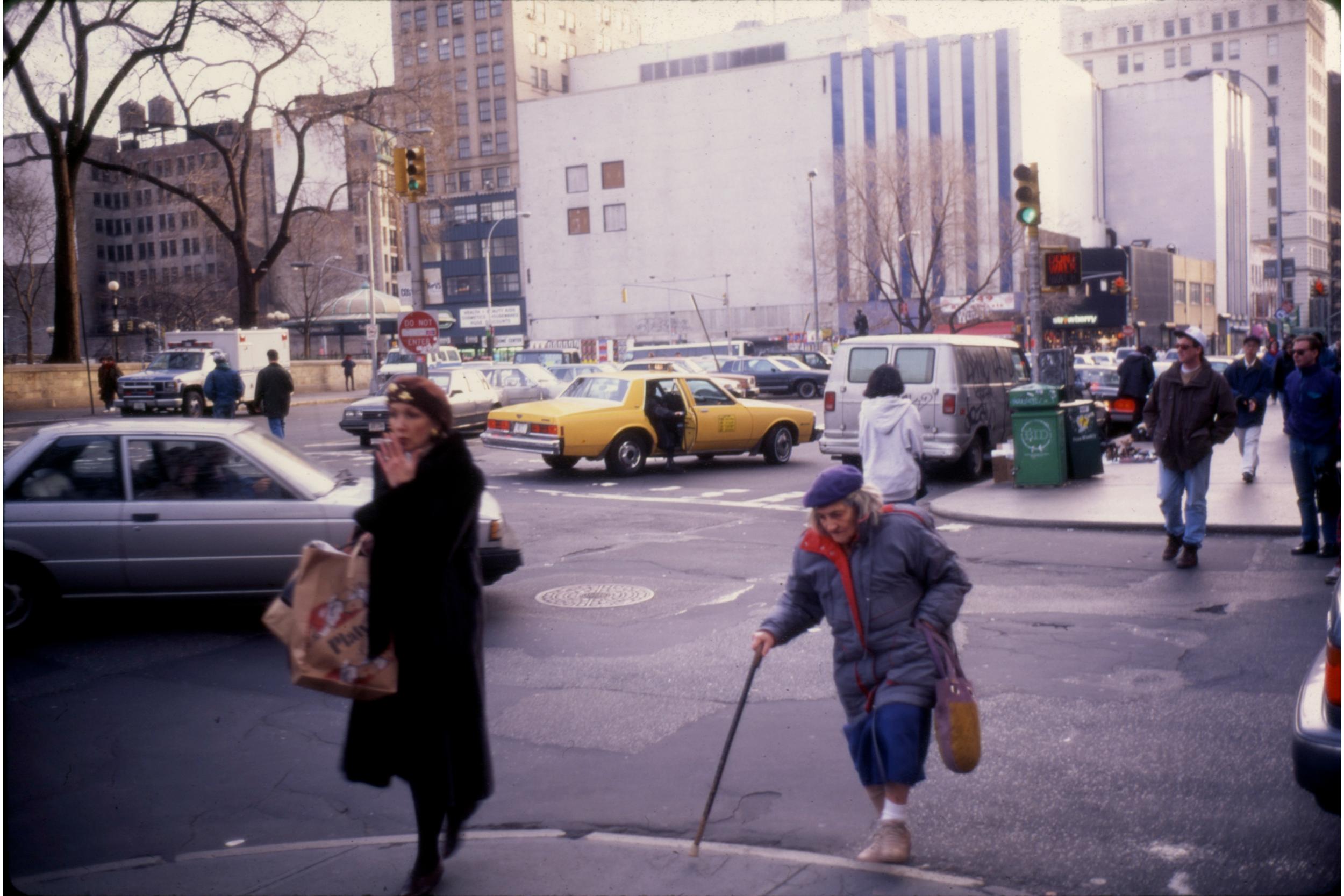 Union Square, January 1993