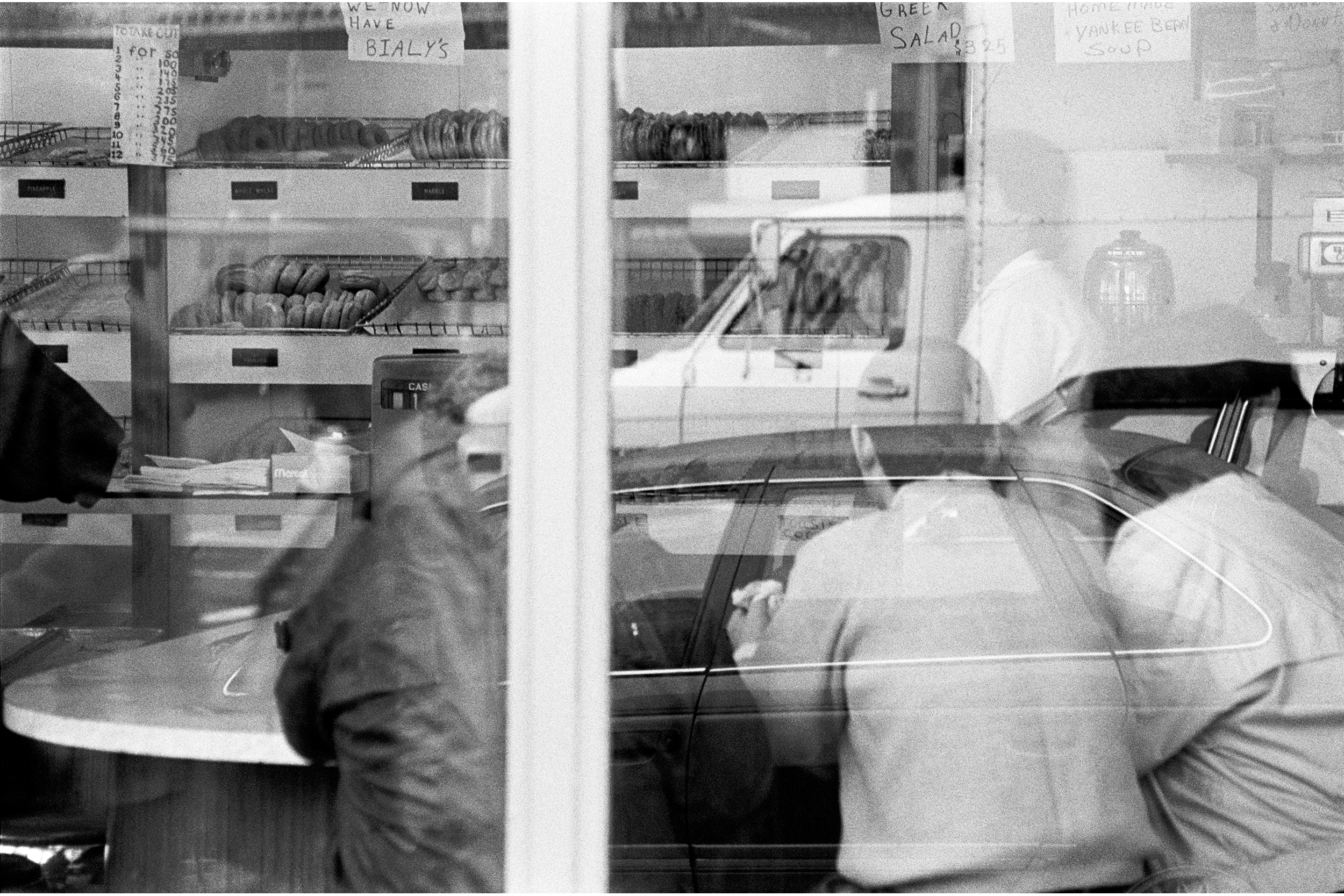 Donut Shop at Union Square, c 1988