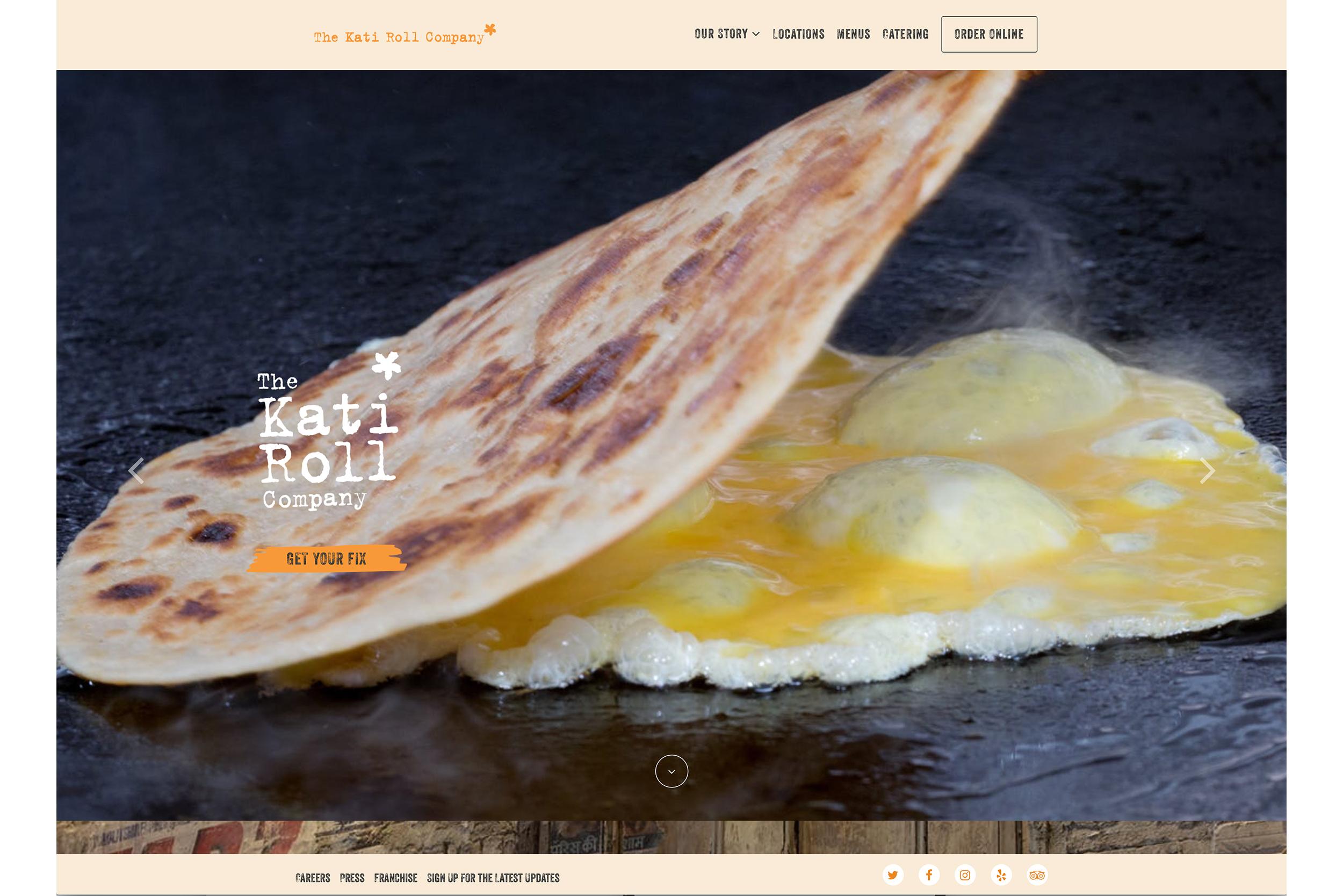 Michael Berman Food and Restaurant Photography - For Kati Roll Company Restaurants