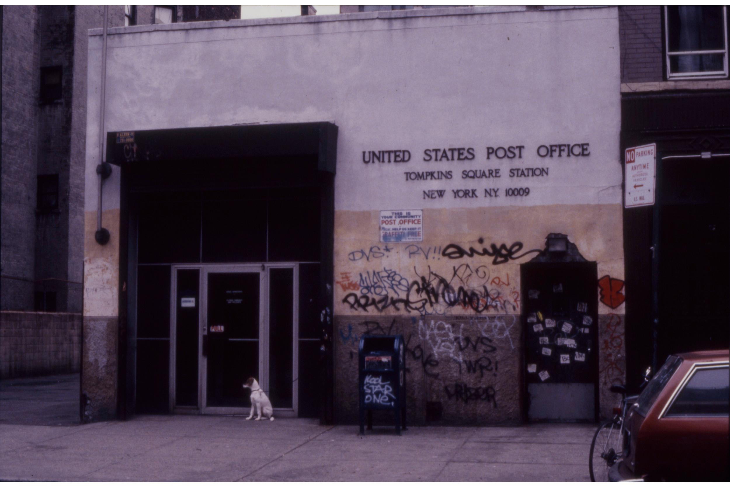 East Village Post Office, c 1989