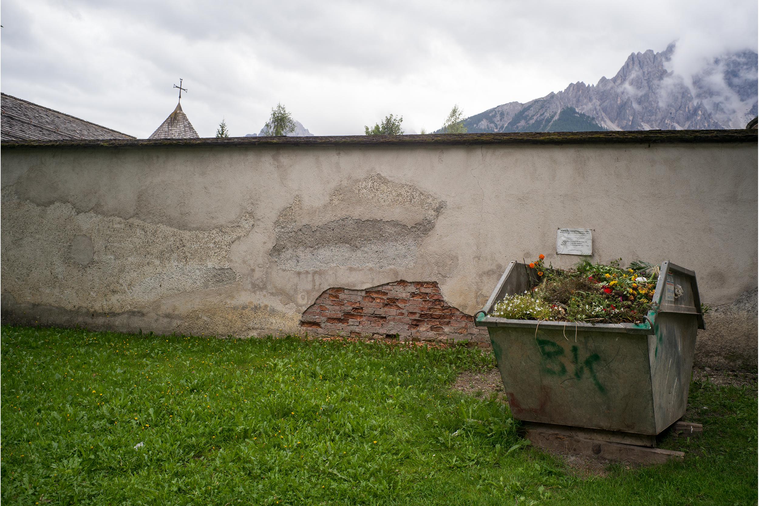 Compost bin, Vodo di Cadore
