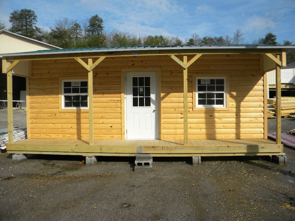 Log sided cabins