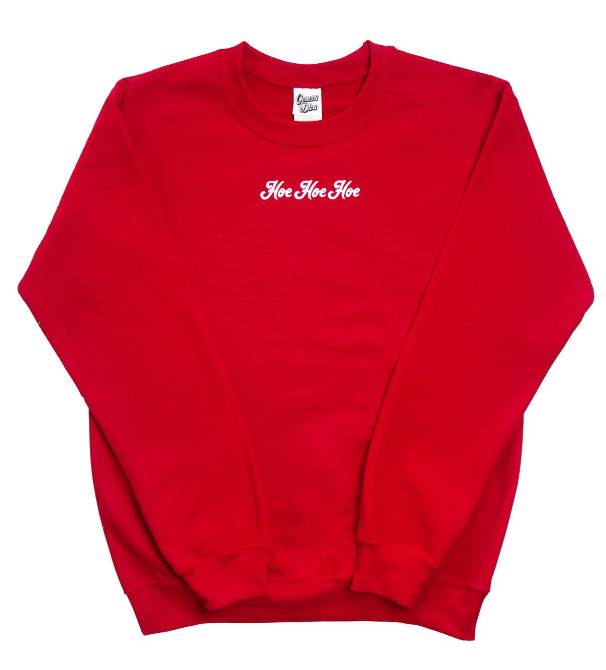 Hoe Hoe Hoe sweatshirt, $40  genevadivanyc.com