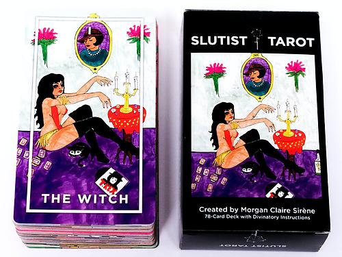 Slutist Tarot deck $50  http://slutist.bigcartel.com/category/tarot