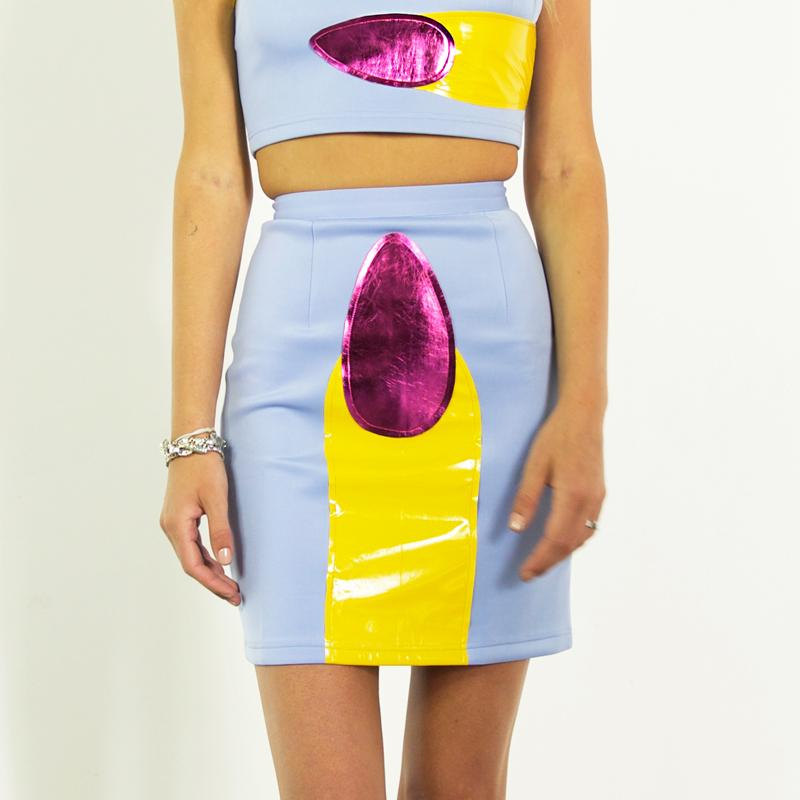 Give your bff the confidence boost she needs to get fingered in this cute af skirt! On sale for $59  laurelandhector.com.au