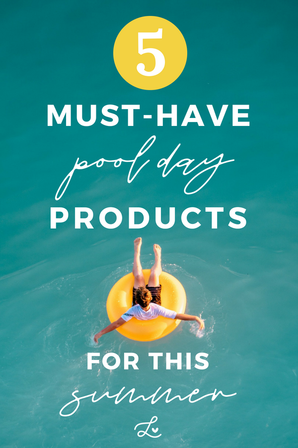 5 Sustainable Pool Day Products For This Summer