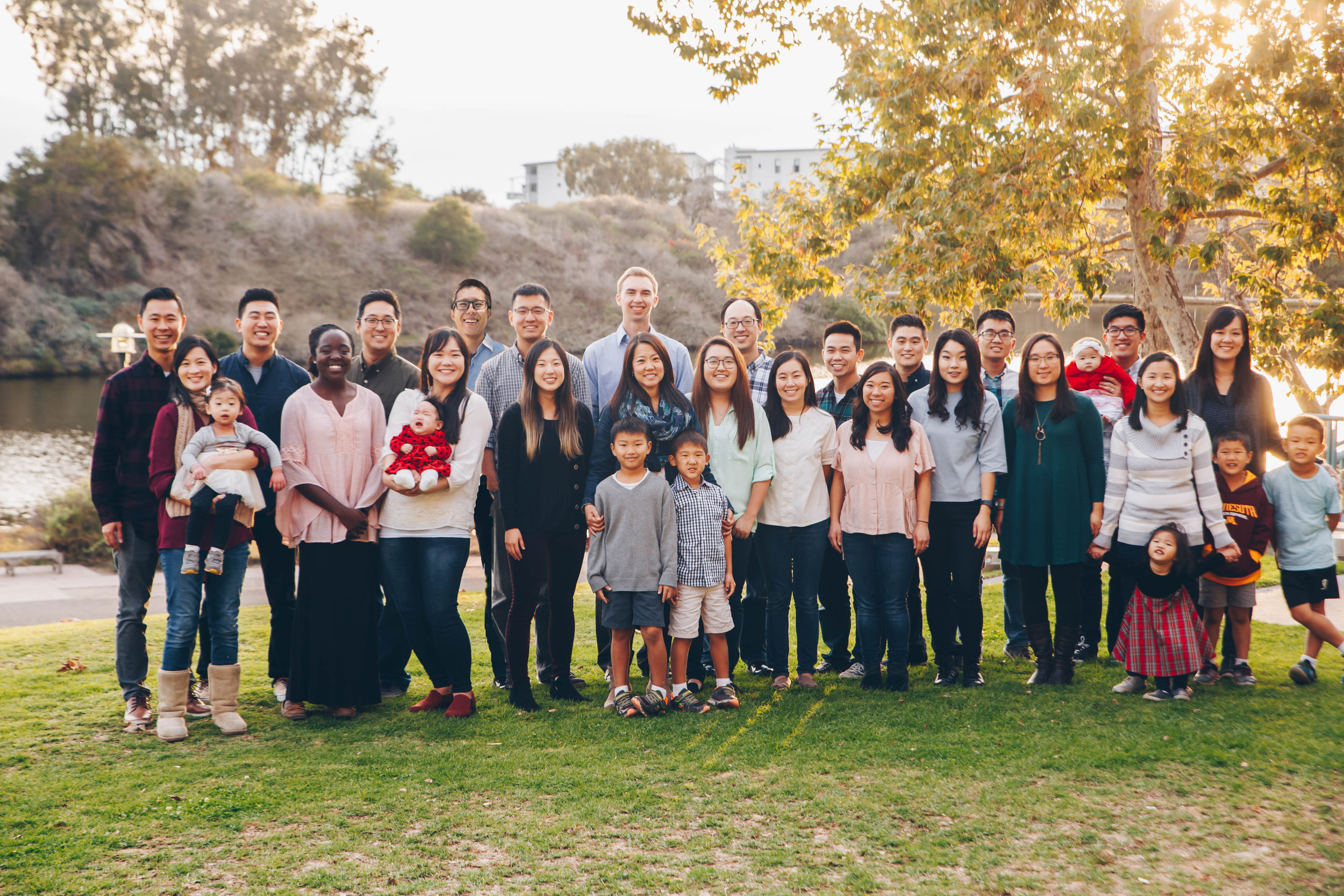 Picture of the Gracepoint Santa Barbara staff team