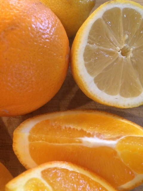 Winter is the perfect time of year to enjoy citrus fruits rich in Vitamin C. Other sources of Vitamin C include leafy greens, bell peppers and broccoli.