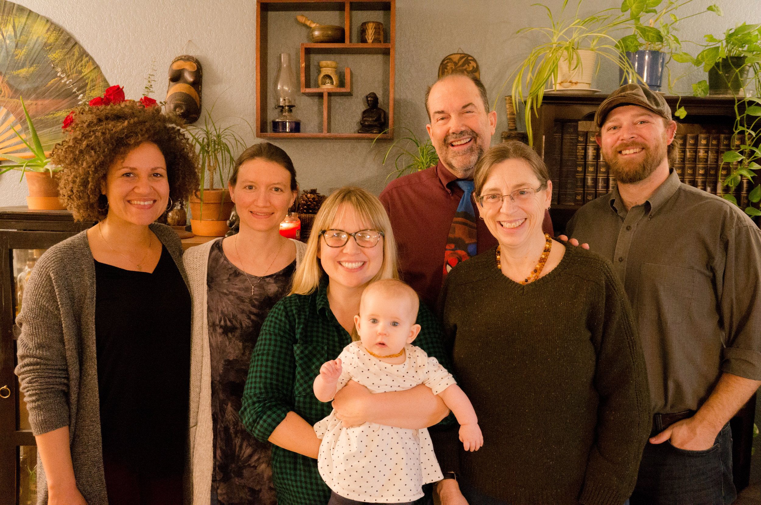 Left to Right: Rachel Williams, Kristen Benoit, Becka Frankie, Tim Herndon, Vicki Penwell, Ian Penwell