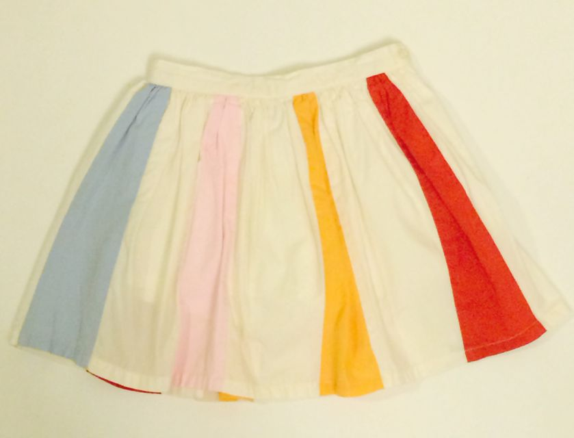 OLIVE JUICE RAINBOW SKIRT