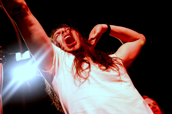 Andrew W.K. played The Showbox at the Market in Seattle, WA on March 5, 2012. Photo by Cozell Wilson.