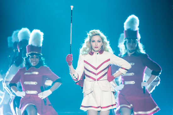 Madonna played at Key Arena on October 2, 2012. Photography by Laura Musselman Duffy.