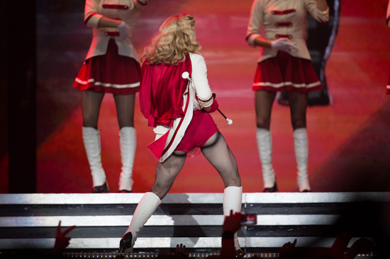 Madonna played Key Arena in Seattle, WA on October 2, 2012. Photography by Laura Musselman Duffy.