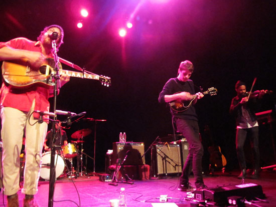 Fleet Foxes played to a sold out crowd at the Moore Theatre in Seattle, WA on May 2, 2011. Photo by Tess Cheatle.